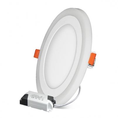 Встраиваемый светодиодный светильник с контурной подсветкой